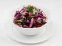 Salad of red cabbage